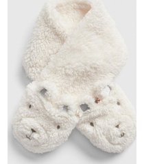 bufanda polar bear blanco gap