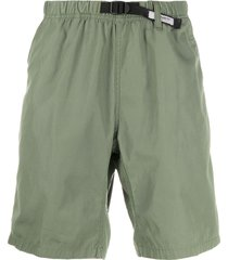 carhartt wip belted bermuda shorts - green