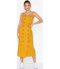 topshop belted pinafore dress klänningar