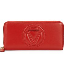 sofia sauvage leather long wallet