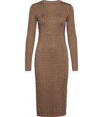 jenari dress 13053 knälång klänning beige samsøe samsøe