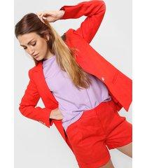 blazer  rojo liguria liz lino