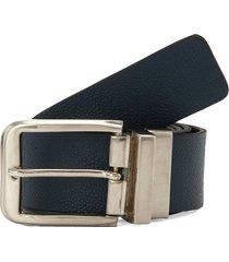 cinturón doble faz negro-azul colore