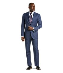 reserve collection tailored fit plaid liberty men's suit by jos. a. bank