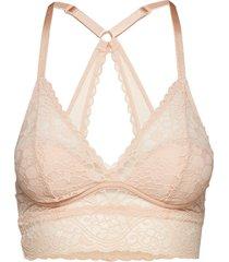 wonderbra triangle bralette lingerie bras  tops padded bras beige wonderbra