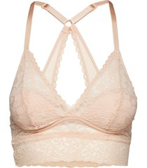 wonderbra triangle bralette lingerie bras & tops padded bras beige wonderbra