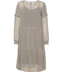 cupernelle dress jurk knielengte crème culture