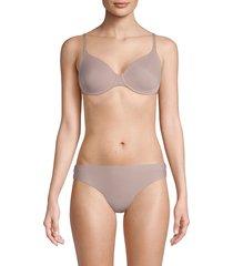 hanro women's underwire bra - natural - size 34 d