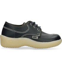 zapatillas escolares azul oscuro bubblegummers gufi escolar