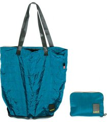 shopping bag  matte bold azul bubba bags