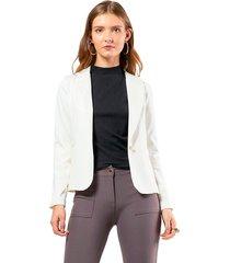blazer malha mx fashion pandora off white