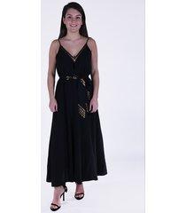 forte_forte jurk 7256 zwart