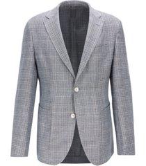 boss men's micro pattern blazer