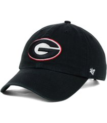 '47 brand georgia bulldogs ncaa clean-up cap