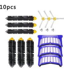sweeper diez accesorios conjunto robot aspiradora accesorios portátile
