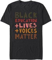fifth sun men's black lives short sleeve t-shirt