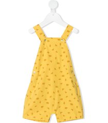 knot animal 70's jumpsuit - yellow