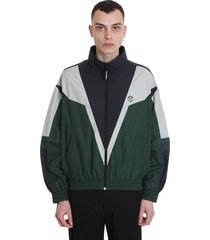 vetements casual jacket in green polyester