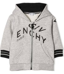 givenchy grey cotton hoodie