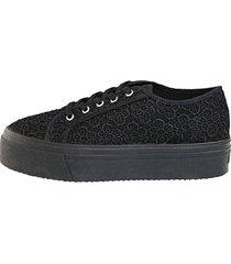 skor klingel svart