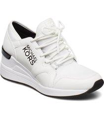 liv trainer låga sneakers vit michael kors shoes