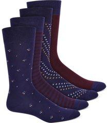 alfani men's 4-pk. socks, created for macy's
