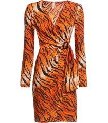 abito tigrato (arancione) - bodyflirt boutique