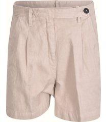 massimo alba buttoned waist shorts
