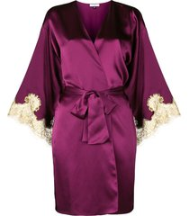 gilda & pearl gina short kimono - pink