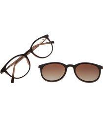 montura de gafas con lente extra (multi) - lvmu0316 - gradiente