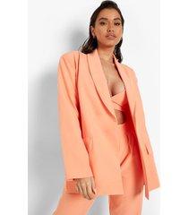 getailleerde baggy blazer, peach
