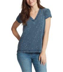 william rast splatter cotton t-shirt