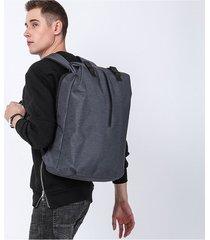 mochila de hombre. mochila hombres 15.6 pulgadas oxford-azul