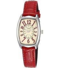 reloj casio ltp-1208e9b2 -rojo