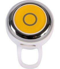audífonos inalámbricos deportivos, mini audifonos bluetooth manos libres  q3 v4.0 auricular estéreo del control de la voz del auricular con el mic para toda la charla del teléfono y música (amarillo)