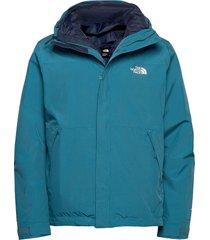 m naslund triclimate - eu outerwear sport jackets blå the north face
