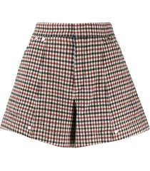 chloé a-line shorts - red