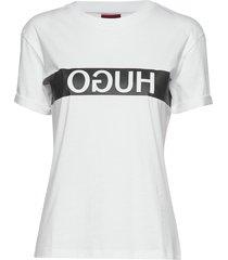 datina t-shirts & tops short-sleeved vit hugo