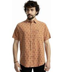 camisa lanka cotelé naranja kivul
