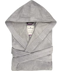 badjas sassari tom tailor zilverkleur