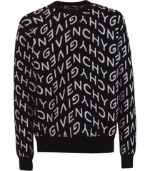 givenchy refracted jacuard pullover