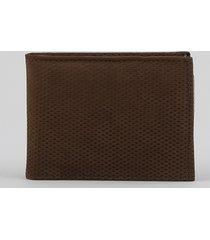 carteira de couro masculina marrom