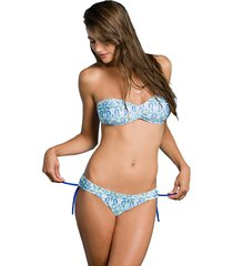 bikini  azul queen of sheba