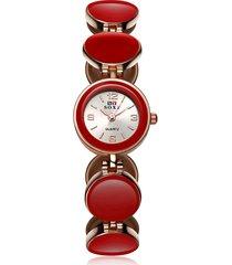 soxy donna orologio rotondo semplice di lusso