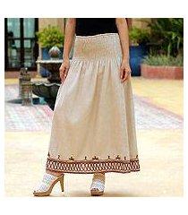 cotton skirt, 'leisure' (thailand)