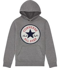 chenille chuck taylor patch hoodie