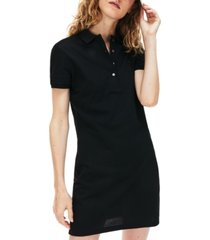 lacoste slim-fit stretch pique polo dress