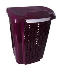 cesto para roupas astra rb5 telado 70 litros uva