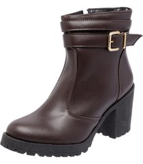 bota coturno mega boots 1405 café