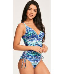 santa cruz underwire non padded shaping one-piece swimsuit d-gg cup